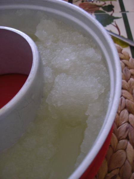 granizado de limon casero
