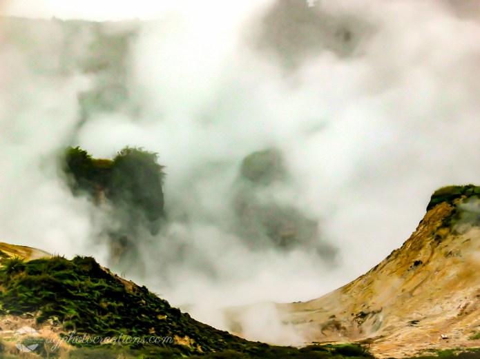 Craters of the Moon Rotorua New Zealand
