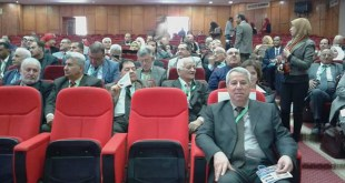 Our Dean participates in the 8th International Conference on Sustainable Development at Fayoum University