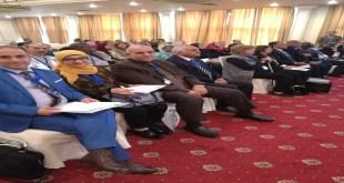 تدريسي في كليتنا يشارك في مؤتمر علمي في جمهورية مصر العربية