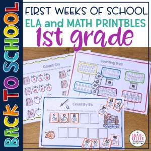 Back To School 1st Grade