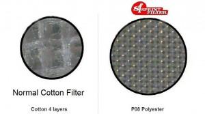 Filtro Normal vs Filtro Sprint Filter