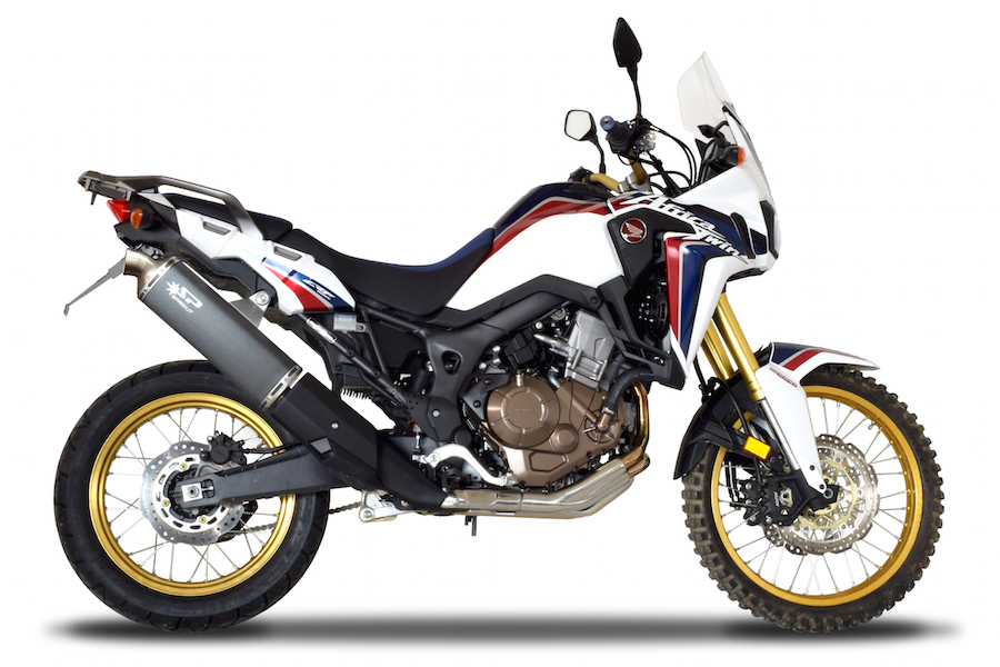 Africa Twin 2016 – Escape Spark Exhaust Technology