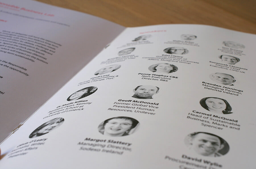Responsible Business Forum's brochure