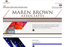 Website for Maren Brown & Associates