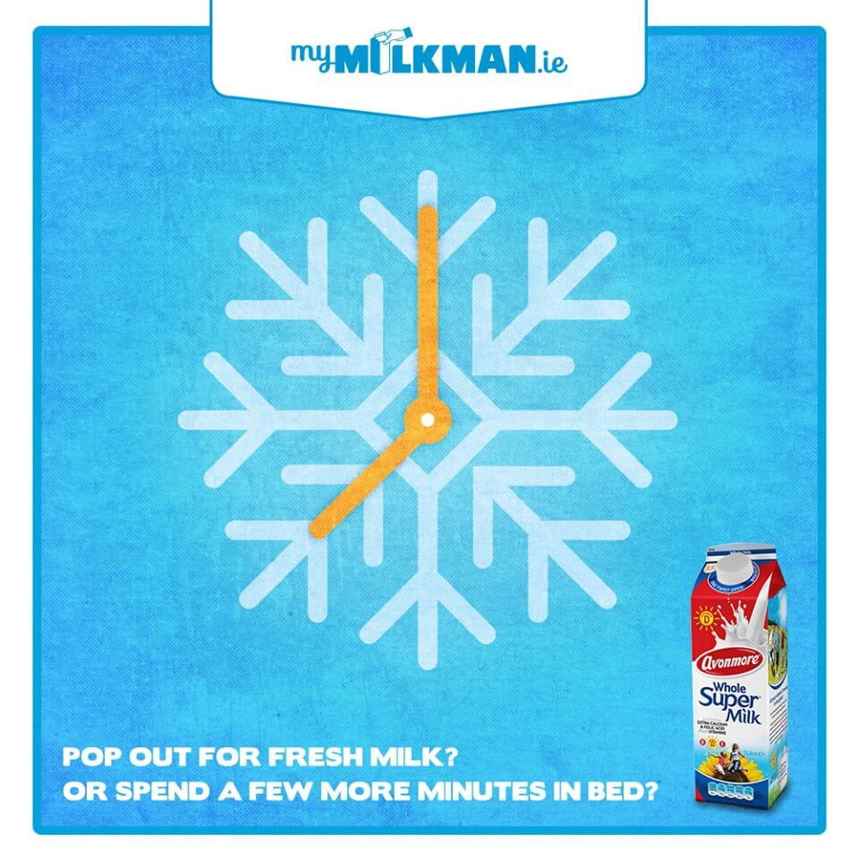 MyMilkman.ie – Cold Mornings