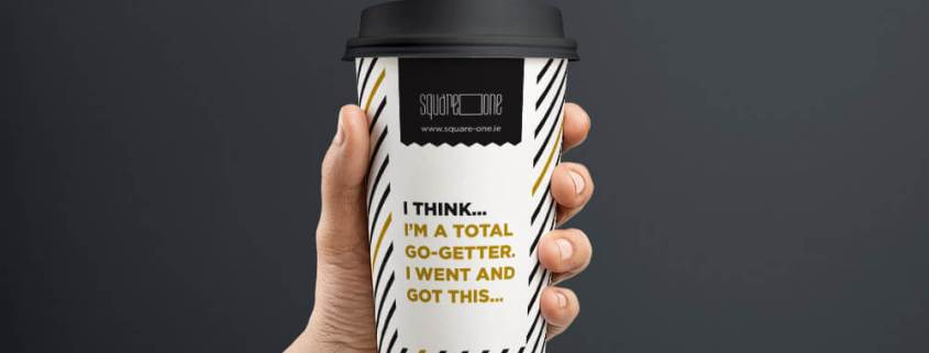 hot drink cup design by Aga Grandowicz - agrand.ie