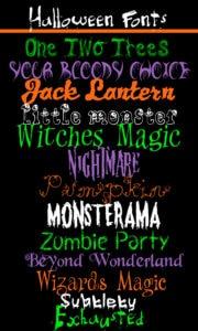 free halloween fonts # 47