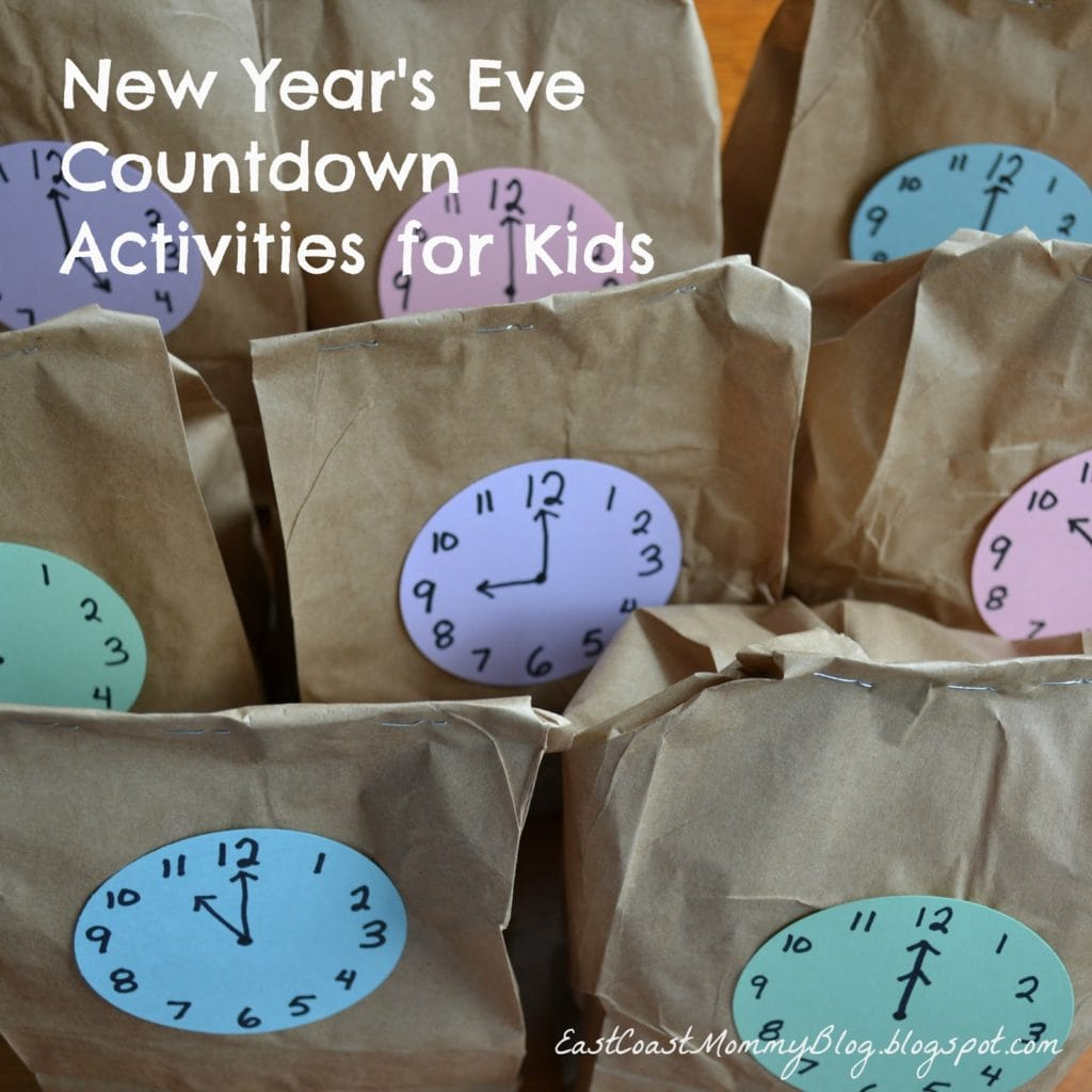12 New Year S Eve Ideas For Kids