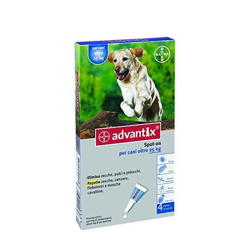 Advantix per cani di taglia fino a 25kg - Certaldo