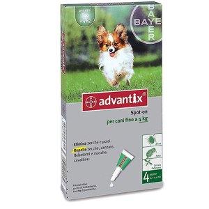 Advantix Spot-on per cani di taglia fino a 4kg-Certaldo