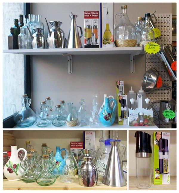 oliere-bottiglie-marasca-olio - Certaldo