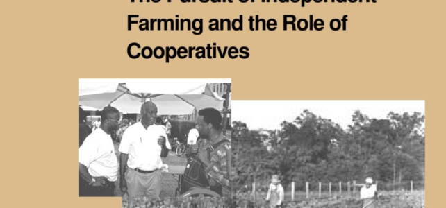 Land Access Strategy: Black U.S. Farmers Employ Numerous Strategies to Maintain Land Ownership and Farm Operating Independence