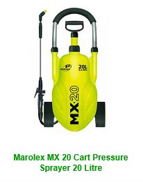 Marolex MX20 Cart Pressure Sprayer