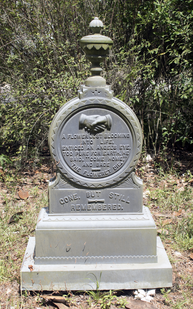 White Bronze Monument, Swift Creek, White Springs, Florida