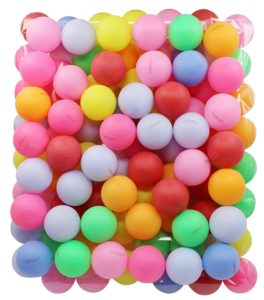 TADICK Beer Ping Pong Balls Plastic Multiple Color Table Tennis Ball