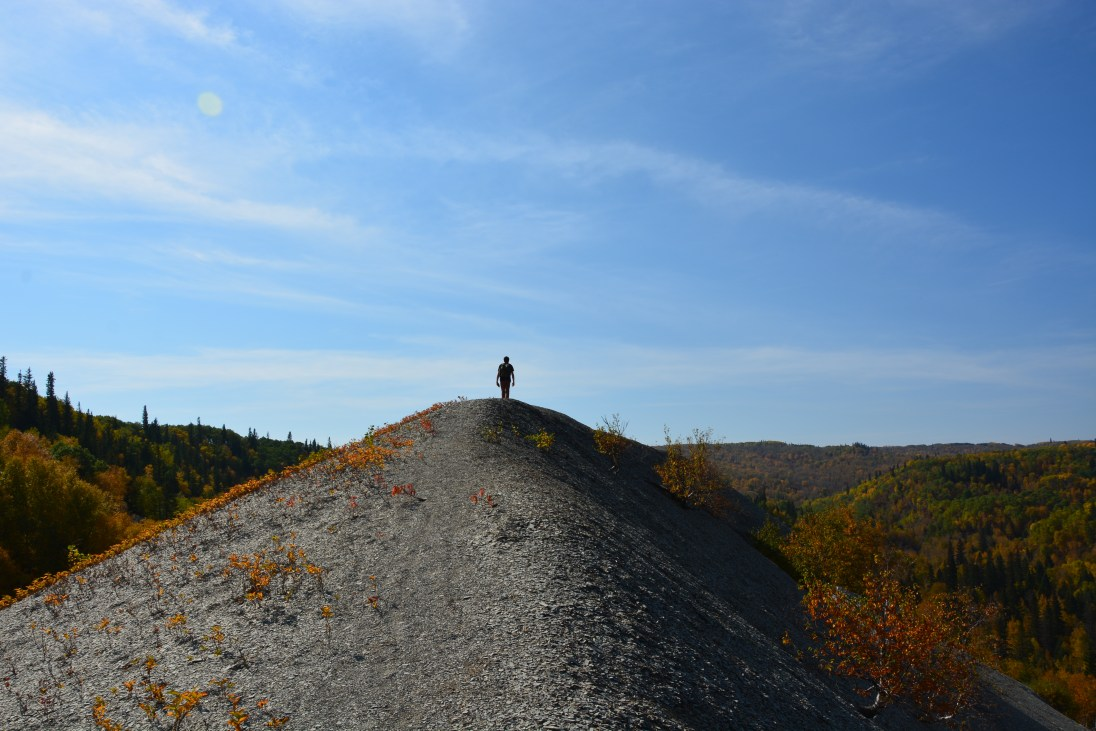 Shale hills