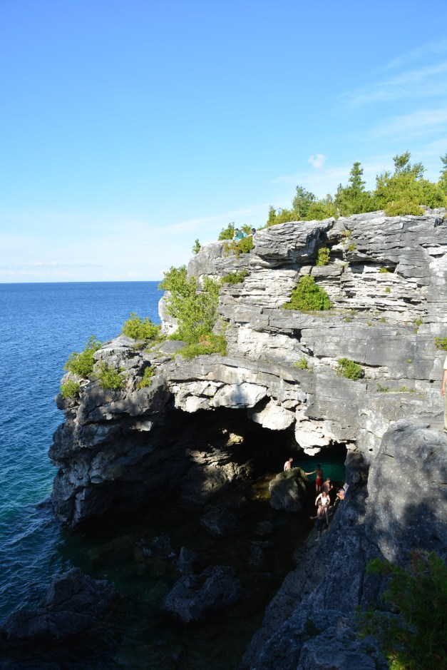 Atop the Grotto