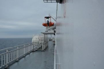 Lower port deck