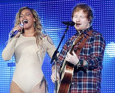 Ed Sheeran talks about duet with Beyonce and tells a secret about Beyonce
