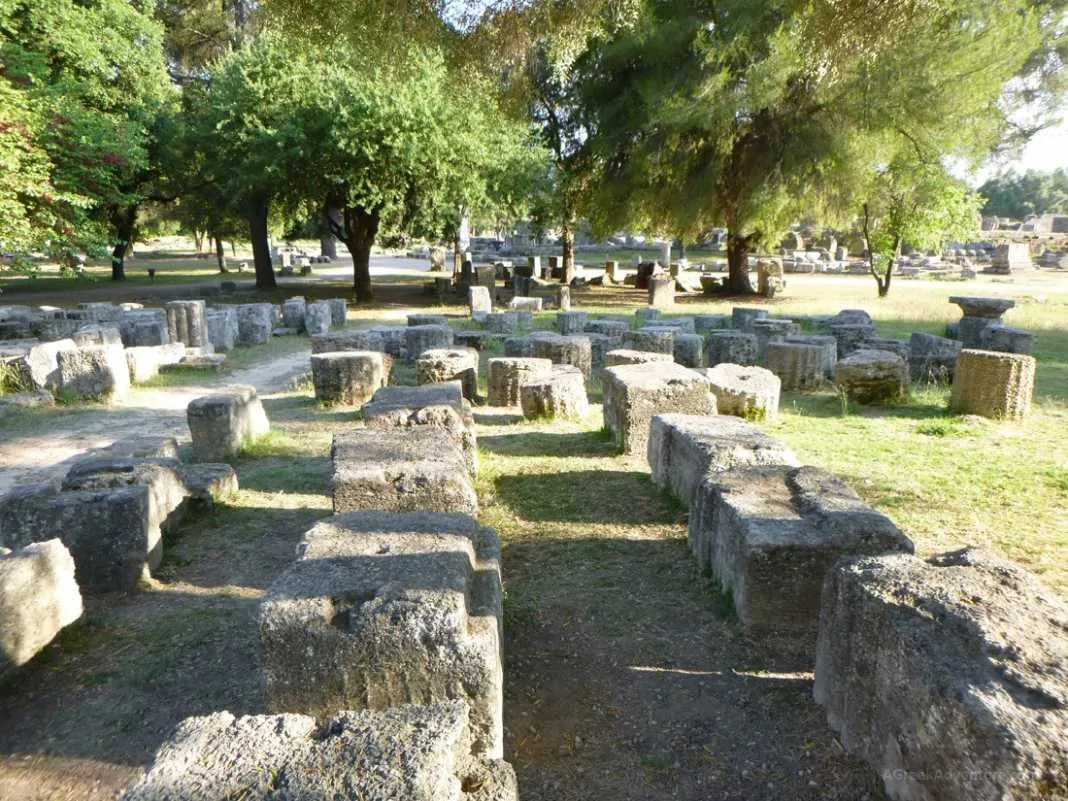 Ancient Olympia Greek Games Or Maybe Not