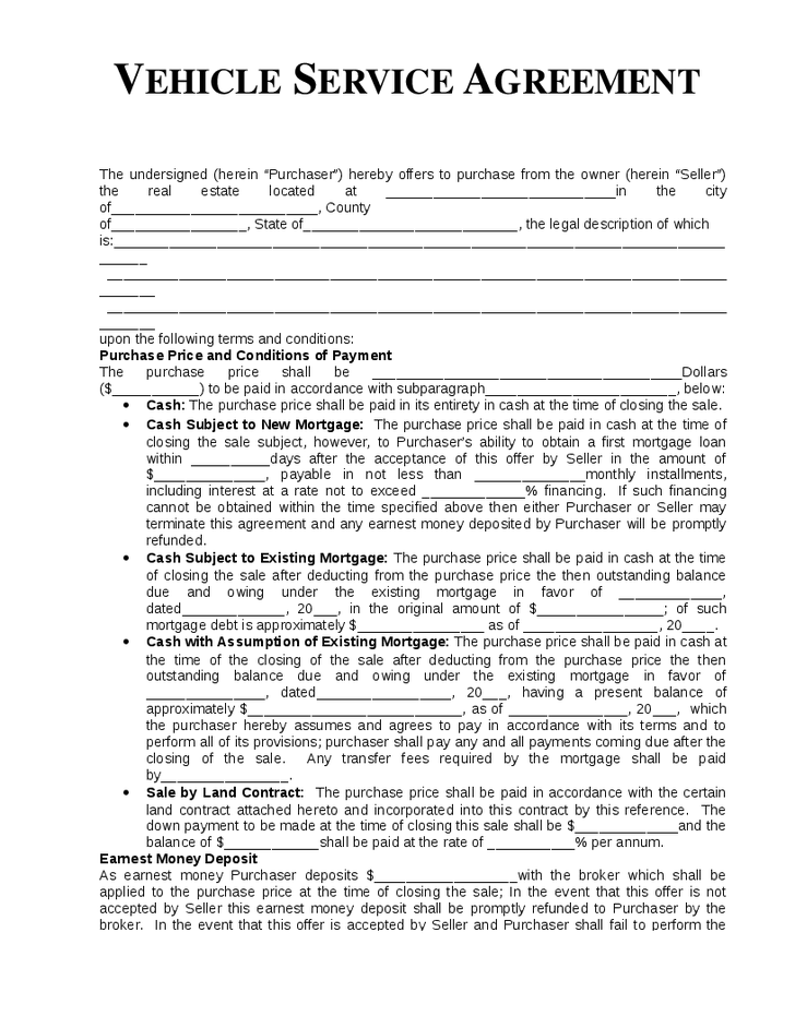 Doc878995 Service Agreement Draft Service Agreement Form 78 – Format of Service Agreement