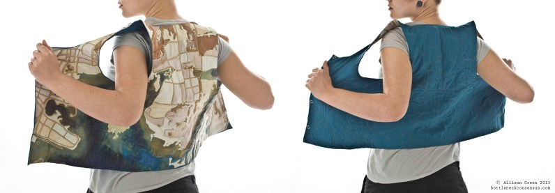 Quilted Apparel Vest Collection- Allison Green_Combo 1