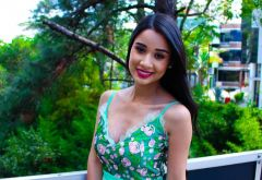Look do Dia: Vestido Verde de Festa