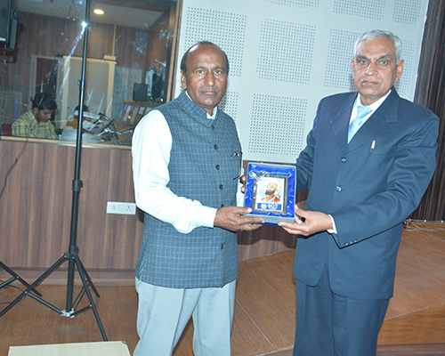 Guest Lecture held on February 23, 2017 by Dr. I.S. Yadav