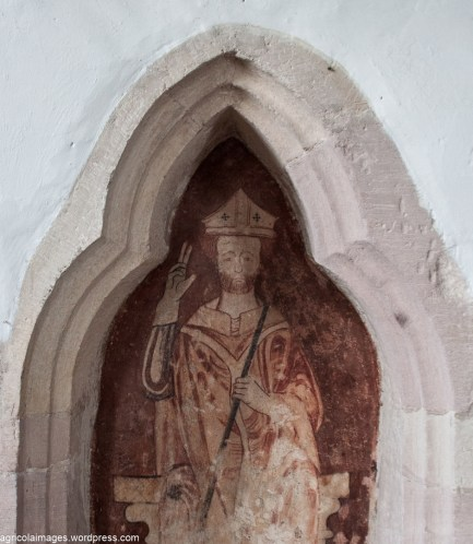 Easby Church Wall Decorations