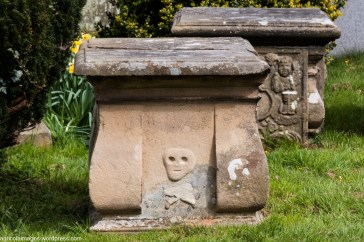 Medieval tomb in Easby Churchyard