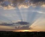 Amanecer con nubes