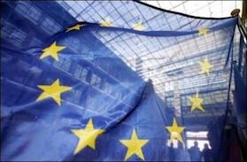 Bandera de la Union Europea.