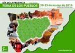 Exposición de aceites de la provincia en la feria de los Pueblos