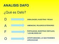 Análisis dafosobre oleoturismo