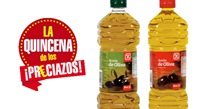 Dos botellas de Aceite de oliva Dia
