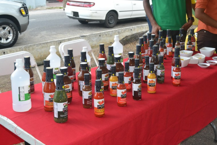 Locally produced sauces