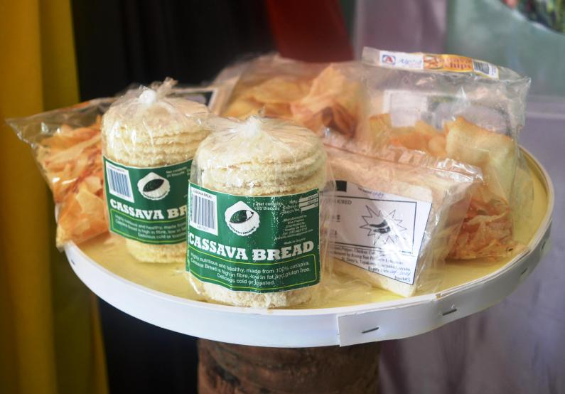 Cassava Bread and other cassava products