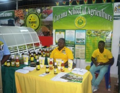 GSA booth at the Berbice Expo