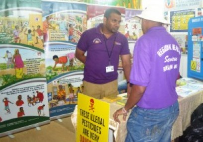PTCCB booth at the Berbice Expo