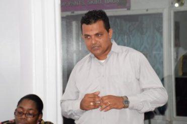 Regional Chairman of Region #2, Devanand Ramdatt