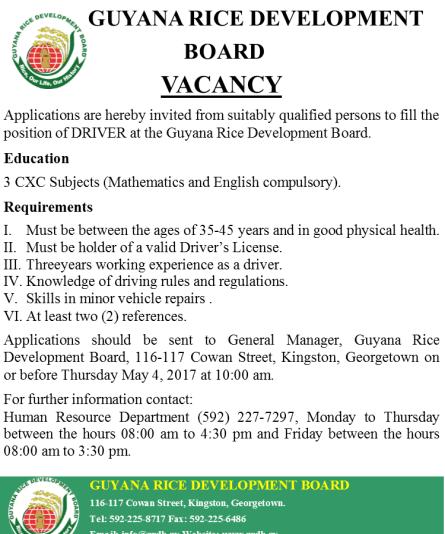 Vacancy Driver