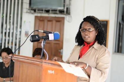 Acting Permanent Secretary (PS) Joylyn Nestor-Burrowes attached to the Ministry of Agriculture.