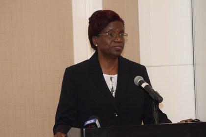 Permanent Secretary, Ministry of Agriculture Delma Nedd.