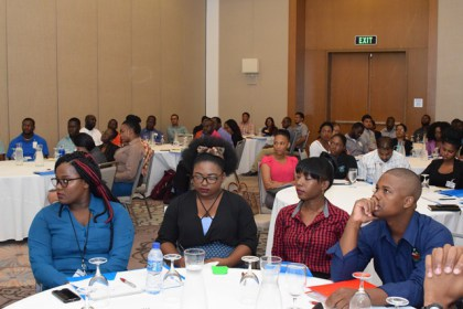 Stakeholder gathered at the Fourth National Climate Change Outlook Forum.