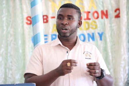 Rural Affairs Technical Officer and Region 10 Agricultural Officer, Deryk Collins