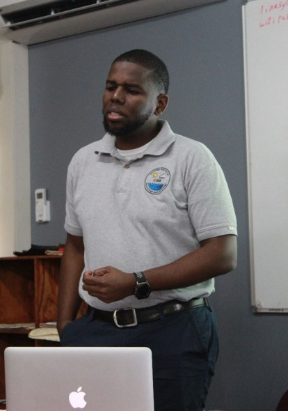 Chief Hydrologist (CIMH) and Project Coordinator of the DEWETRA Training Workshop, Mr. Sean Boyce