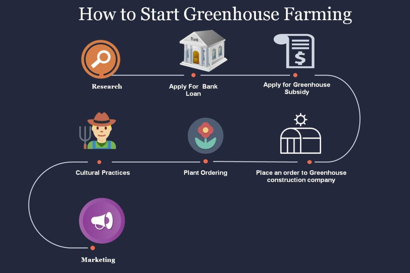 how to start greenhouse farming