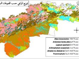 توزيع المناطق الرعوية في الجزائر