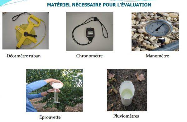 MATÉRIEL NÉCESSAIRE POUR L'ÉVALUATION